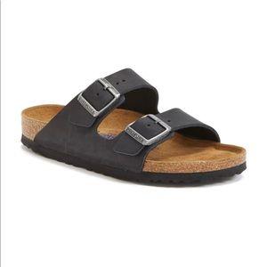Birkenstock Arizona Black Soft Footbed Sandal B2